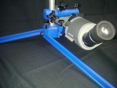 Spotting scope stand rod-High Power-Small-bore-ADJUSTABLE LEGS-BLUE