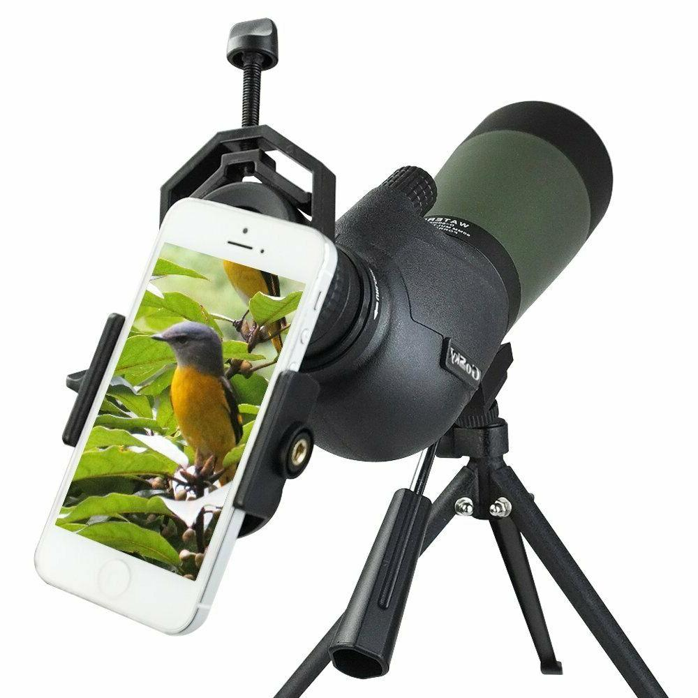 spotting scope telescope 25 75x70mm bird scopes