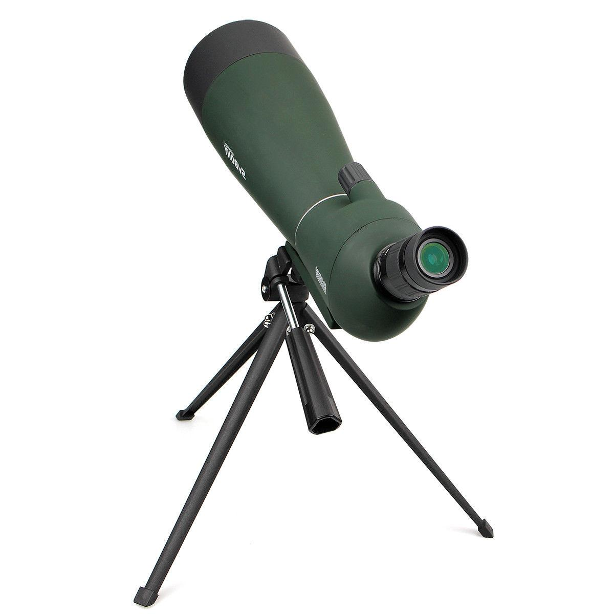 SVBONY 20-60x80mm BAK4 Refractor Angled Spotting Scopes+ Phone