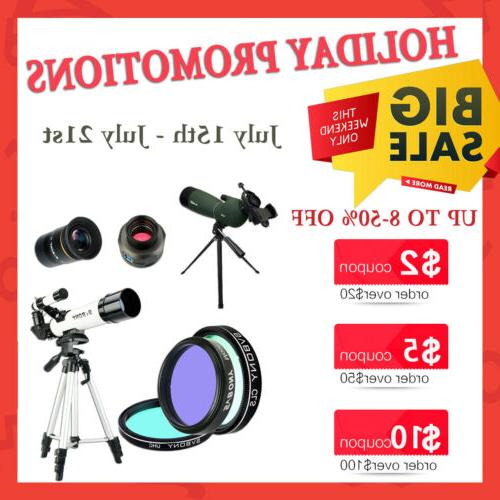 SVBONY Zoom Spotting Scopes Waterproof +Tripod+Phone Adapter