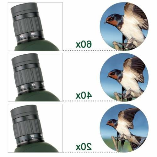 SVBONY SV28 20-60x60mm Spotting Scopes Adapter