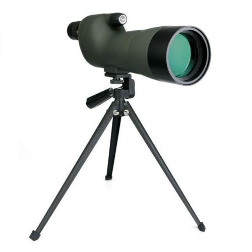 Spotting SVBONY 20-60x60 Waterproof Straight&Tripod for