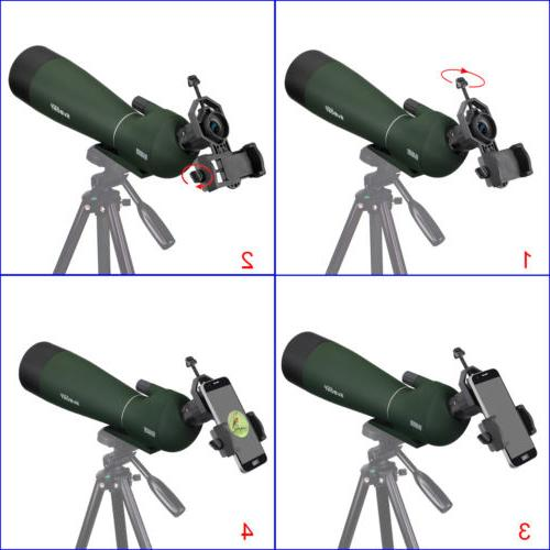 SVBONY SV28 Spotting Scope Prism Bird + Adapter US
