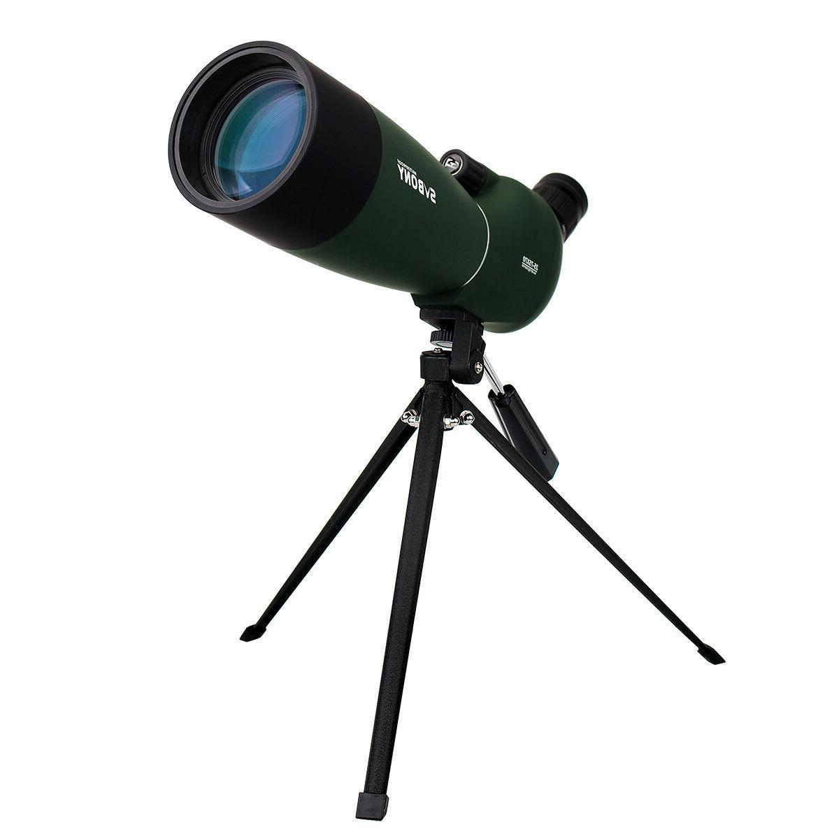 SVBONY SV28 25-75x70mm Zoom Scope Telescope Angled
