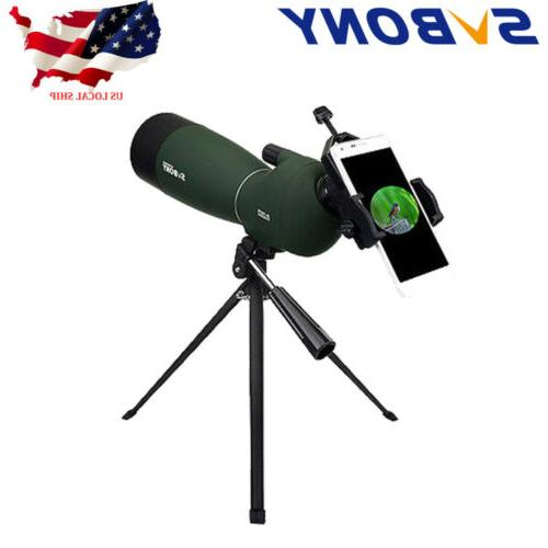 sv28 25 75x70mm angled zoom spotting scopes