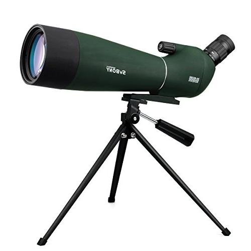 SVBONY Scope Shooting Bird Hunting with Phone Adapter Carrying Case