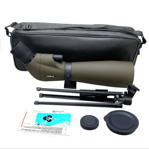 Spotting Scope SV401 20-60x80mm 45° Waterproof Spotting