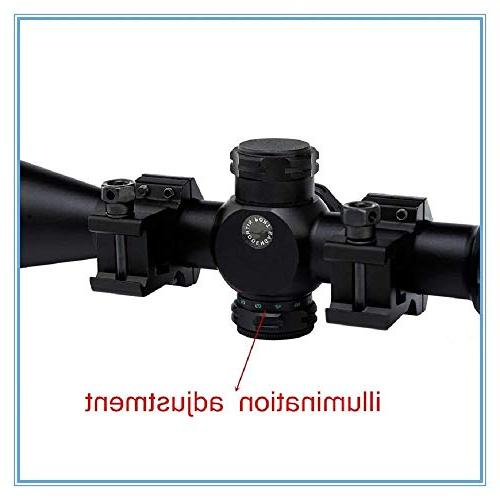 Tactical Scope Sniper Riflescopes Reticle Airsoft Rifle Holographic Optical Optics Sports Hunting