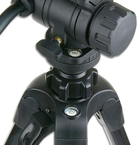 Carson TriForce Pan-Head Tripod,