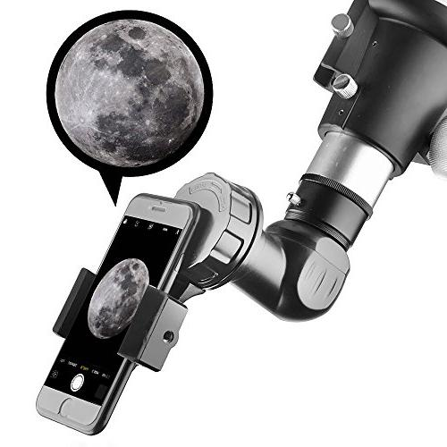Landove Universal Smartphone Quick Photography Mount for Binoculars Spotting Scope Microscope Cell Mobile
