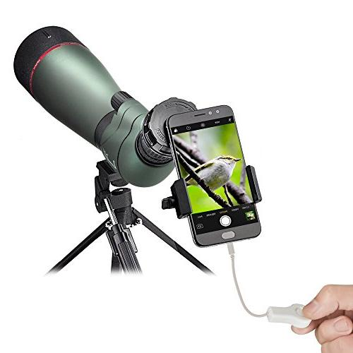 Landove Phone Smartphone Quick Photography Mount Connector for Binoculars Microscope Cell