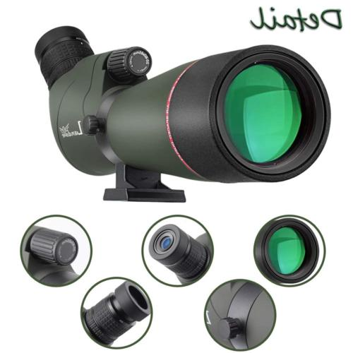 LANDOVE Prism Scope 20-60X65mm Waterproof Angled Scope
