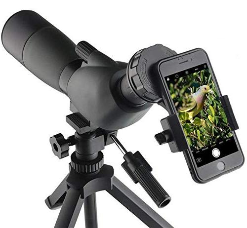 SOLOMARK Cell Adapter-Compatible Telescope Spotting Scope Binoculars Almost All Brands
