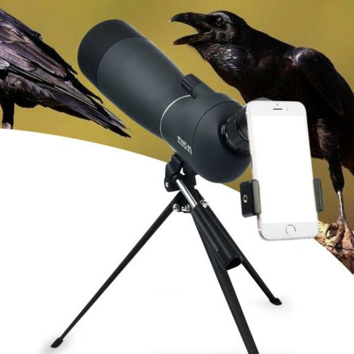 Spotting Telescope With Tripod&Phone Target Shooting