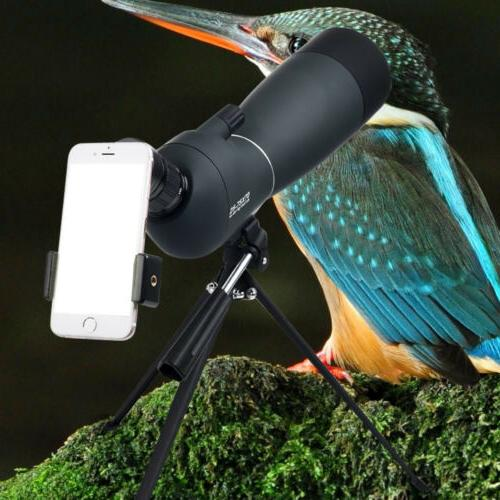 Spotting Telescope With Tripod&Phone Adapter For Target
