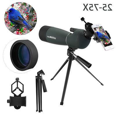 Waterproof BAK4 Spotting Scope Tripod & Phone