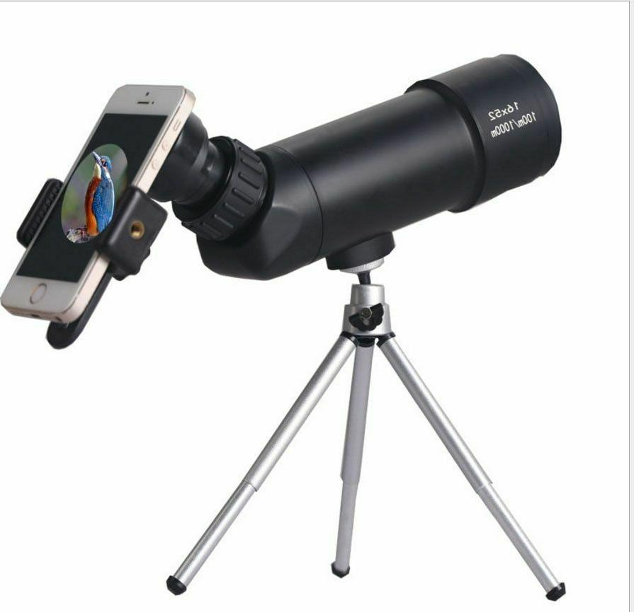 monocular telescope with 16x52 high definition spotting