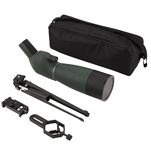 ANCHEER 20-60 Spotting Waterproof for Hunting, Target Shooting and Bird Watching - with