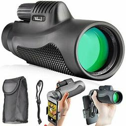 Landove Monoculars 10x42 Compact Monocular Spotting Scope HD