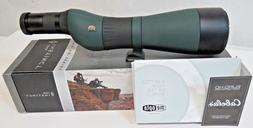 NEW Cabela's Instinct Euro HD 20-70x82 Spotting Scope Straig