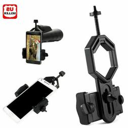 NEW Universal Telescope Cell Phone Mount Adapter for Monocul
