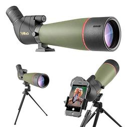 Gosky 20-60x80 Spotting Scope with Tripod, Carrying Bag and