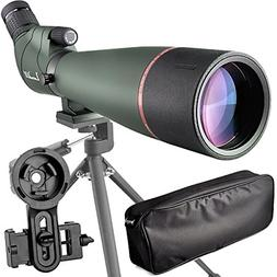 Prism Spotting Scope Waterproof Scope for Birdwatching Targe