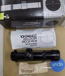 Tasco Pro Class Bow Scope 2x22mm A2x22S Black NIP