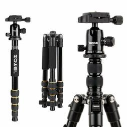 ZOMEI Q666 Portable Professional Tripod&Ball Head Travel for