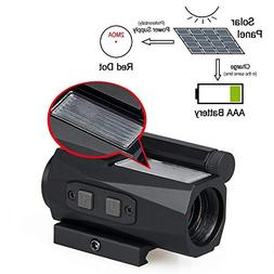 Red Dot Sight with Solar Charging Battery function 2 MOA 1x2