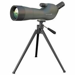 Emarth Spotting Scope 20-60x60AE Waterproof Angled with Trip