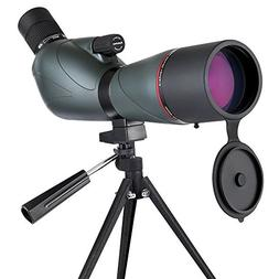 Eyeskey Spotting Scope, Waterproof 20-60x80 Zoom Spotting Sc