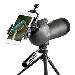 BNISE Spotting Scope for Bird Watching and Hunting, -Green)