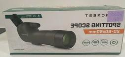 Amcrest Spotting Scope for Target Shooting w/Tripod