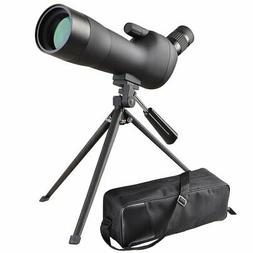 AW 20-60x60mm Zoom Angled Spotting Scope Monocular Telescope
