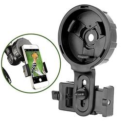 Gosky Spotting Scope Phone Adapter Mount - Universal Cell Ph