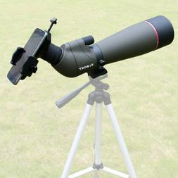 Spotting Scope Telescope SVBONY SV13 20-60x80mm Bk7 Zoom FMC