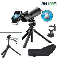 Spotting Scopes with Telescopic Tripod 20X-60X Bird Watching