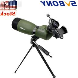 SVBONY SV14 FMC 25-75x70mm 45°Angled Zoom Spotting Scope Po