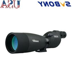 SVBONY SV17 25-75x70mm Straight Spotting Scope Porro BaK4 FM