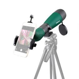 SV18 20-60x60AE Spotting Scopes FC BK7+Phone Mount Adapter F