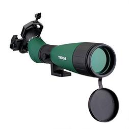 SVBONY SV18 20-60x60mm Spotting Scope Large Center Focus Whe