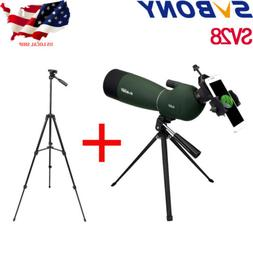 SVBONY SV28 25-75x70 Spotting Scope+SV102 Tripod+Universal P