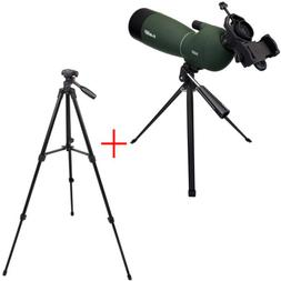 SVBONY SV28 Angled 25-75x70mm Zoom Spotting Scopes MC+phone