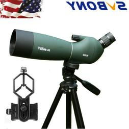 SVBONY SV28 Angled 25-75x70mm Zoom Spotting Scopes Waterproo