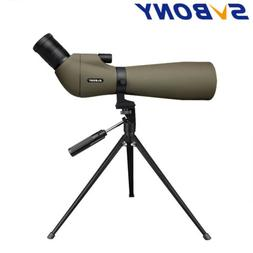 SVBONY SV401 20-60x80 Spotting Scope 45° Waterproof Nitroge