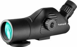 BARSKA Tactical 11-44x50 Angled Spotting Scope with Tripod A