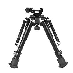 CVLIFE 6-9 Inches Tactical Rifle Bipod Adjustable Spring Ret