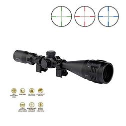 Tactical Rifle Scope 4-16X50 Sniper Riflescopes with Red/Gre