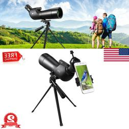 Target Shooting Hunting Spotting Scope 20-60X60 Outdoor Tele